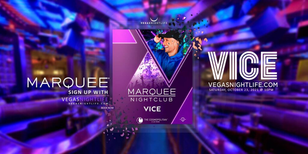 EDC Week with DJ Vice at Marquee Nightclub