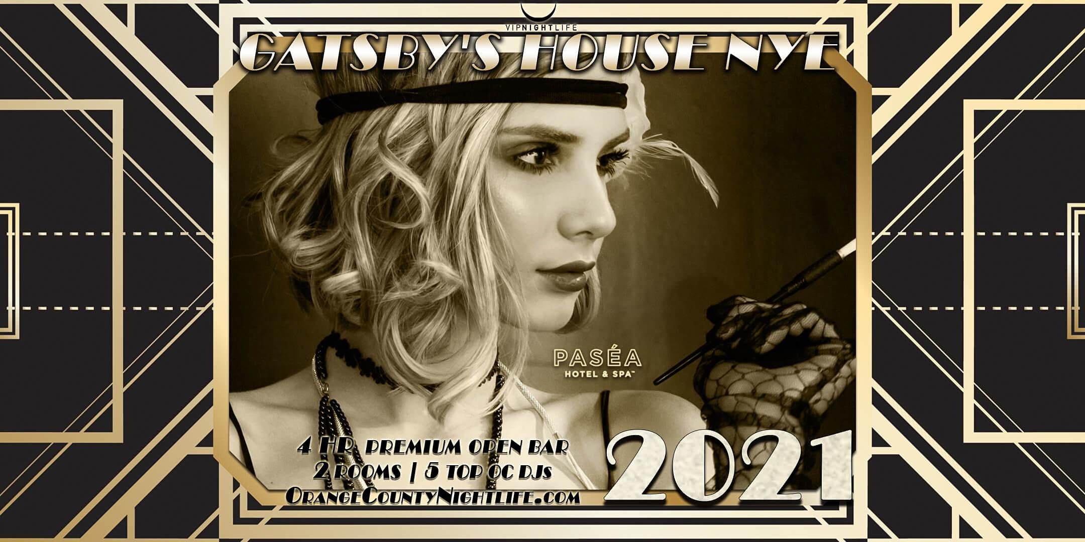 Gatsby's House - OC New Year's Eve 2021 - VipNightlife