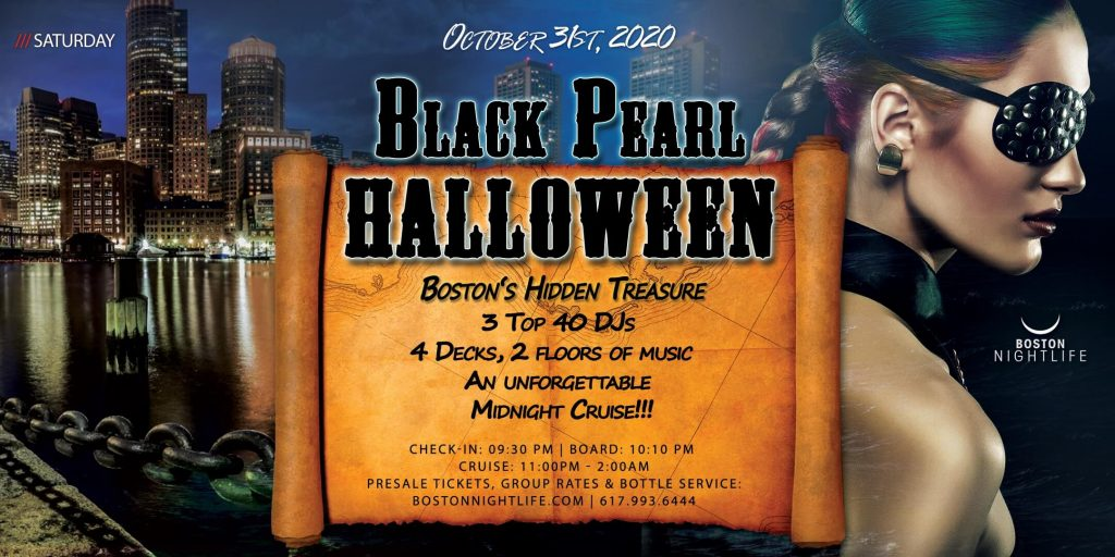 Black Pearl - Pier Pressure Boston Halloween Party