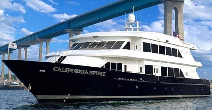 California Spirit Luxury Yacht