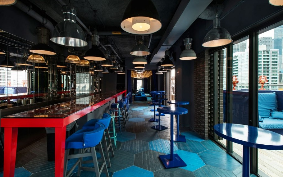 Cerise Rooftop Bar at Virgin Hotels Chicago