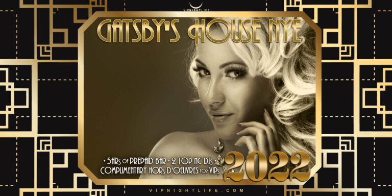2022 Charlotte New Year's Eve Party - Gatsby's House