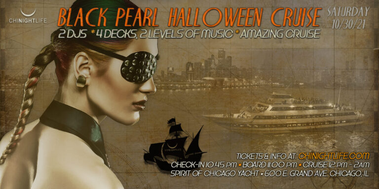 Chicago Halloween - The Black Pearl Yacht Party