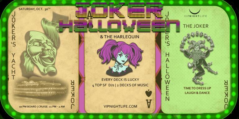 Jokers Halloween Party Yacht SF