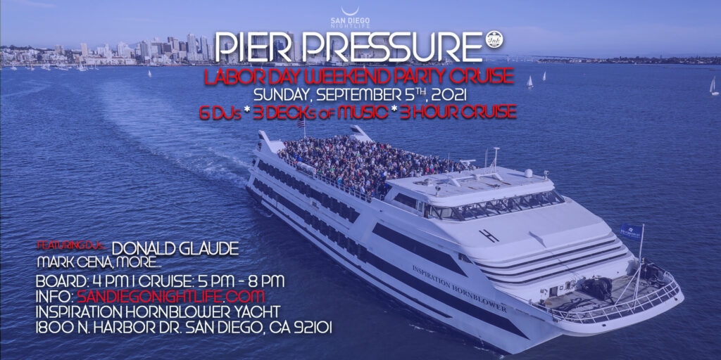 Labor Day Weekend San Diego Yacht Party