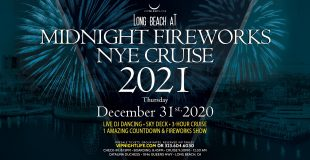 Long Beach at Midnight Fireworks New Year's Eve Cruise 2021