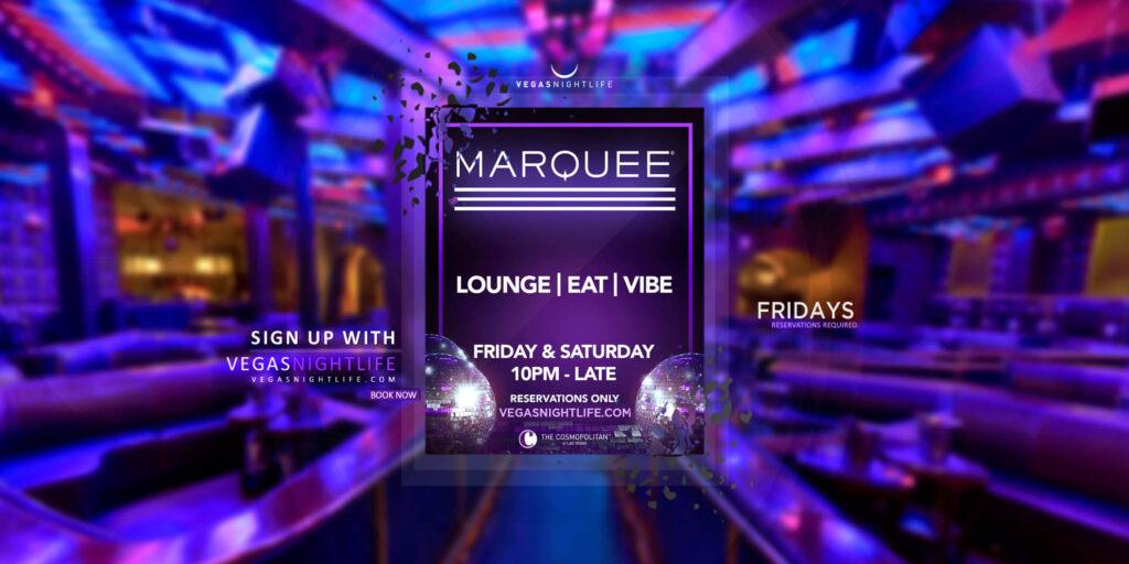 Marquee Friday Nights Las Vegas
