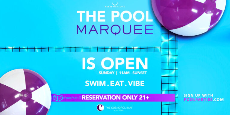Marquee Pool Party Las Vegas