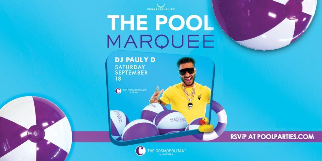 Marquee Dayclub   DJ Pauly D