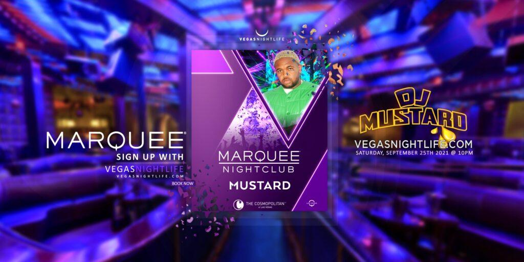 Marquee Nightclub | DJ Mustard
