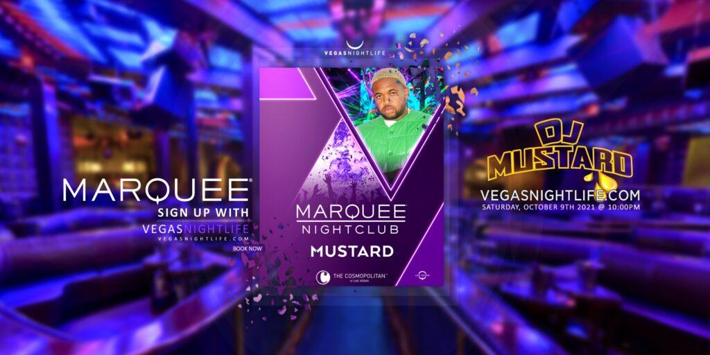 Marquee Nightclub Saturday Las Vegas   DJ Mustard