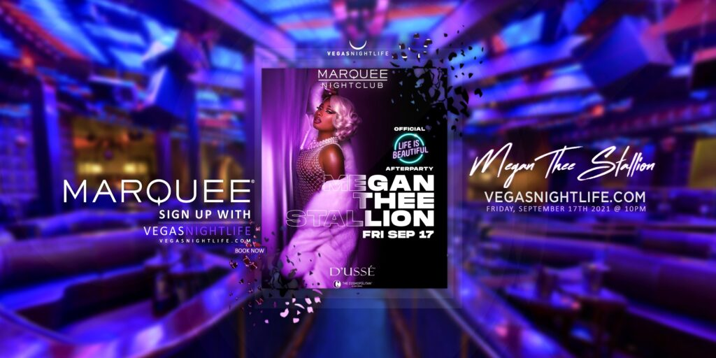 Marquee Nightclub   Megan Thee Stallion