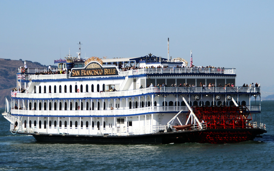 San Francisco Belle Iconic Yacht by Hornblower