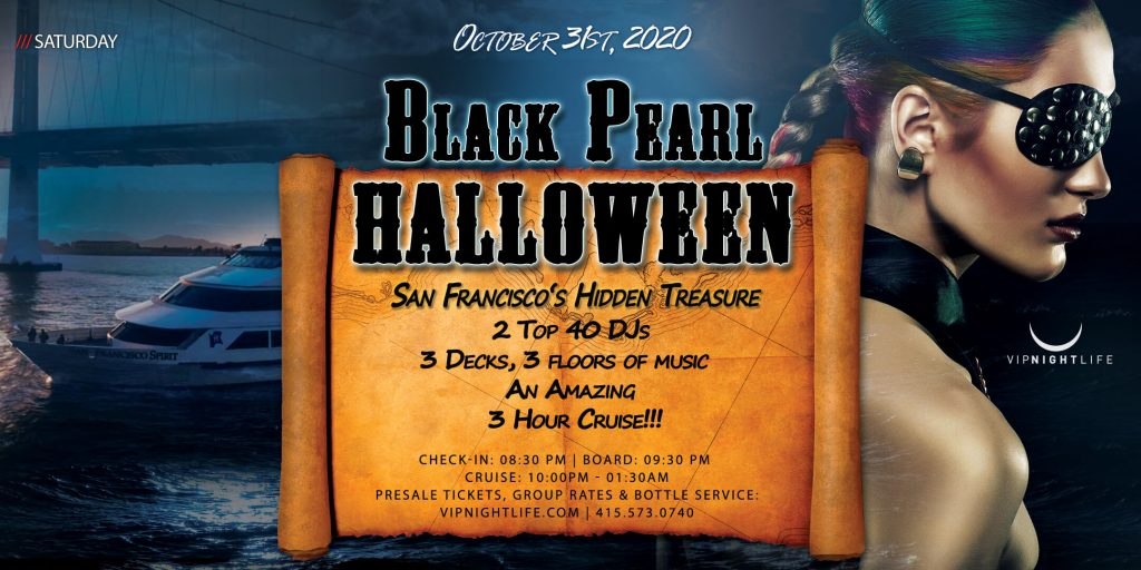 Pier Pressure Black Pearl - SF Halloween Yacht Party
