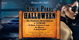 Pier Pressure Black Pearl - SF Halloween Yacht Party