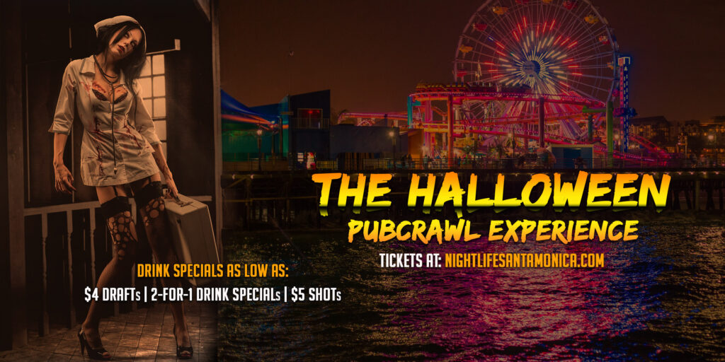 Santa Monica Halloween Pub Crawl - Saturday
