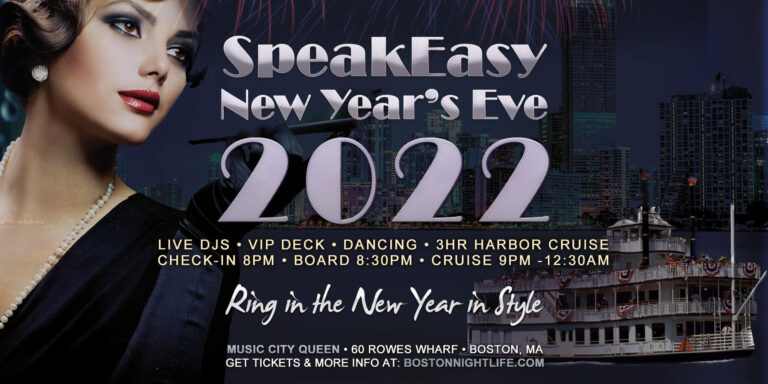 Speakeasy Boston New Years Eve Party Cruise