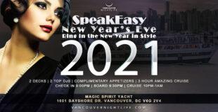 Vancouver New Year's Eve Speakeasy Cruise 2021