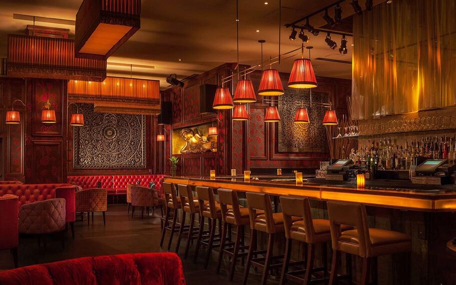 TAO Las Vegas Bar Restaurant Interior