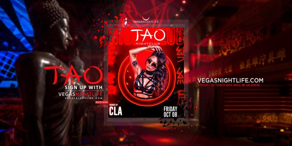 TAO Nightclub Friday with DJ CLA
