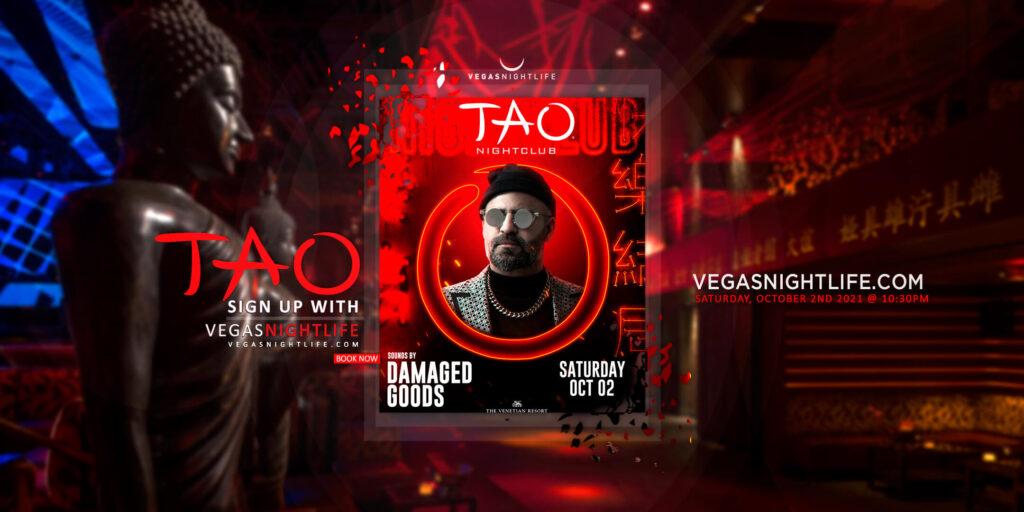 TAO Nightclub Saturday with Damaged Goods