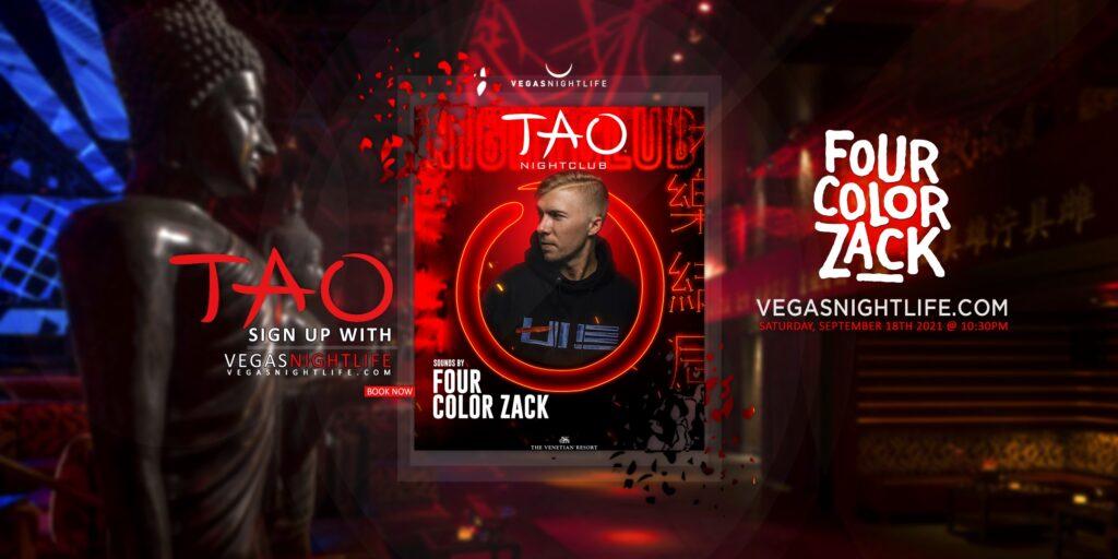 TAO Nightclub Saturday   Four Color Zack