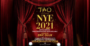 Tao NYE 2021 New Years Eve Las Vegas