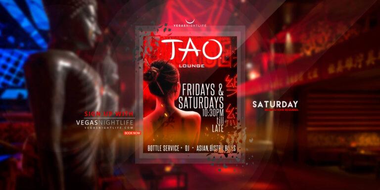 TAO Saturday Nights at TAO Las Vegas