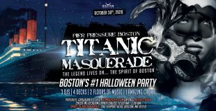 Titanic Masquerade - Pier Pressure Boston Halloween Party