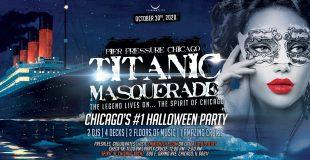 Titanic Masquerade - Pier Pressure Chicago Halloween Yacht Party