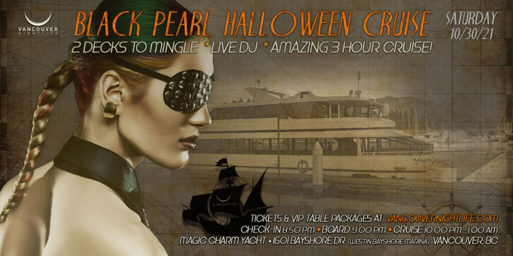 Black Pearl Vancouver Halloween Party Cruise
