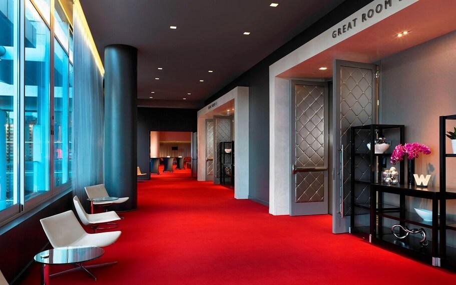 W Hollywood Great Room foyer