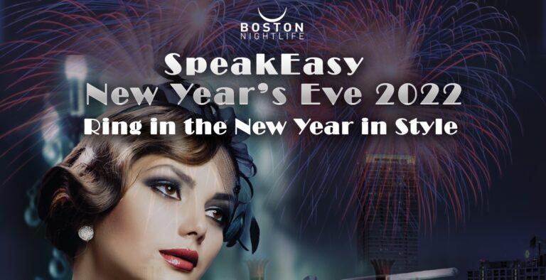 Speakeasy Boston New Year's Eve Party Cruise 2022